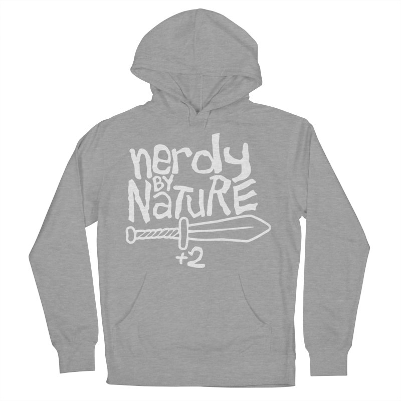 Nerdy By Nature Men's Pullover Hoody by Gamma Bomb - A Celebration of Imagination