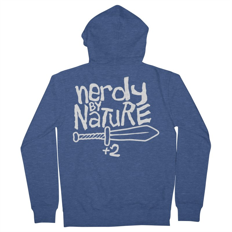 Nerdy By Nature Women's Zip-Up Hoody by Gamma Bomb - A Celebration of Imagination