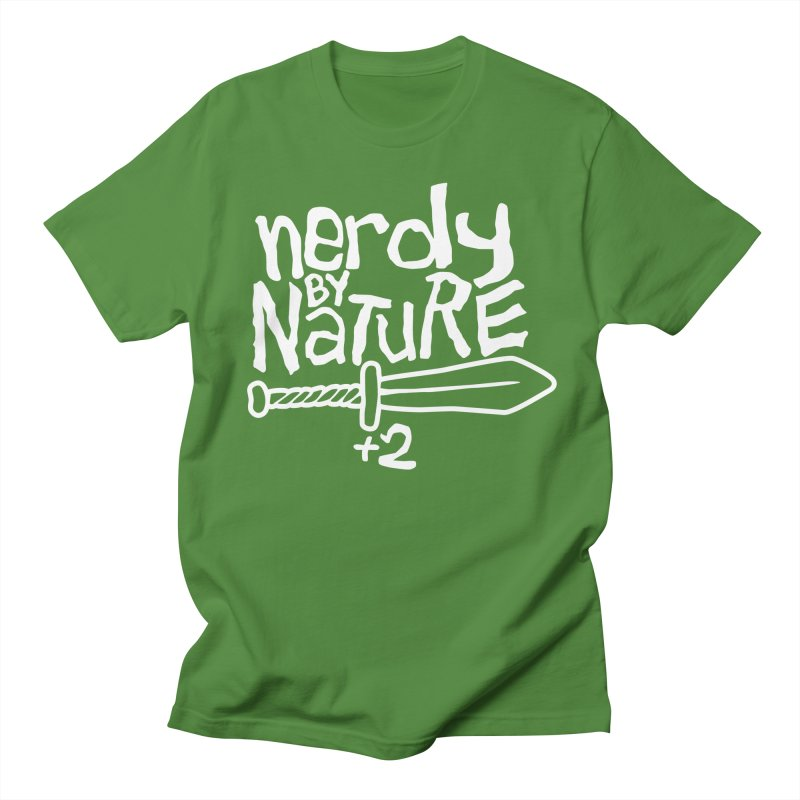Nerdy By Nature Men's T-Shirt by Gamma Bomb - A Celebration of Imagination