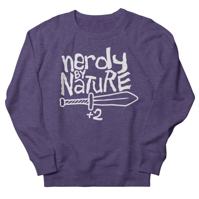 Nerdy By Nature Men's Sweatshirt by Gamma Bomb - A Celebration of Imagination