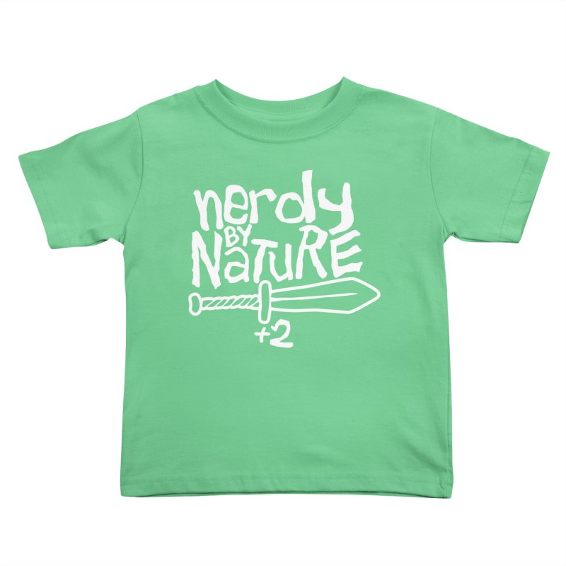 Nerdy By Nature Kids Toddler T-Shirt by Gamma Bomb - A Celebration of Imagination