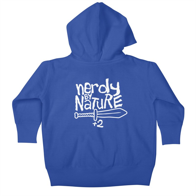 Nerdy By Nature Kids Baby Zip-Up Hoody by Gamma Bomb - A Celebration of Imagination
