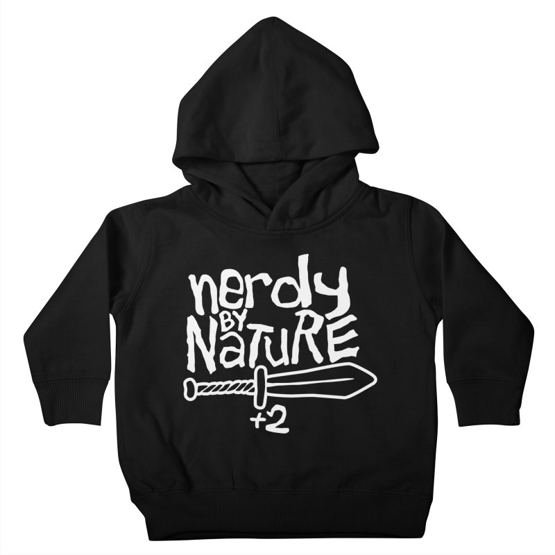 Nerdy By Nature Kids Toddler Pullover Hoody by Gamma Bomb - A Celebration of Imagination