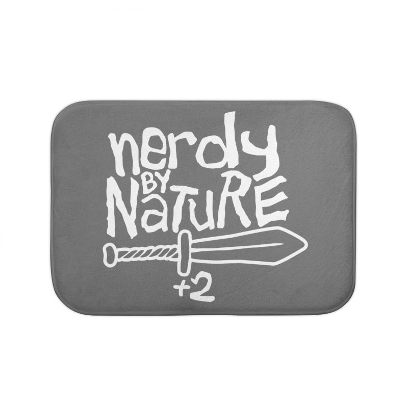 Nerdy By Nature Home Bath Mat by Gamma Bomb - A Celebration of Imagination