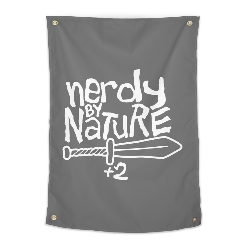Nerdy By Nature Home Tapestry by Gamma Bomb - A Celebration of Imagination