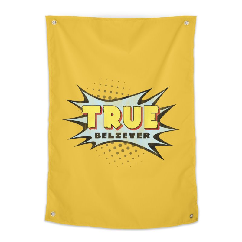 True Believer - Mighty Flavor Home Tapestry by Gamma Bomb - A Celebration of Imagination