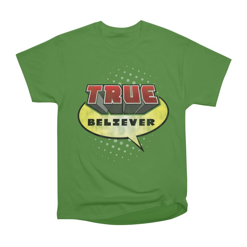 True Believer - Mouthy Merc Flavor Women's Classic Unisex T-Shirt by Gamma Bomb - A Celebration of Imagination