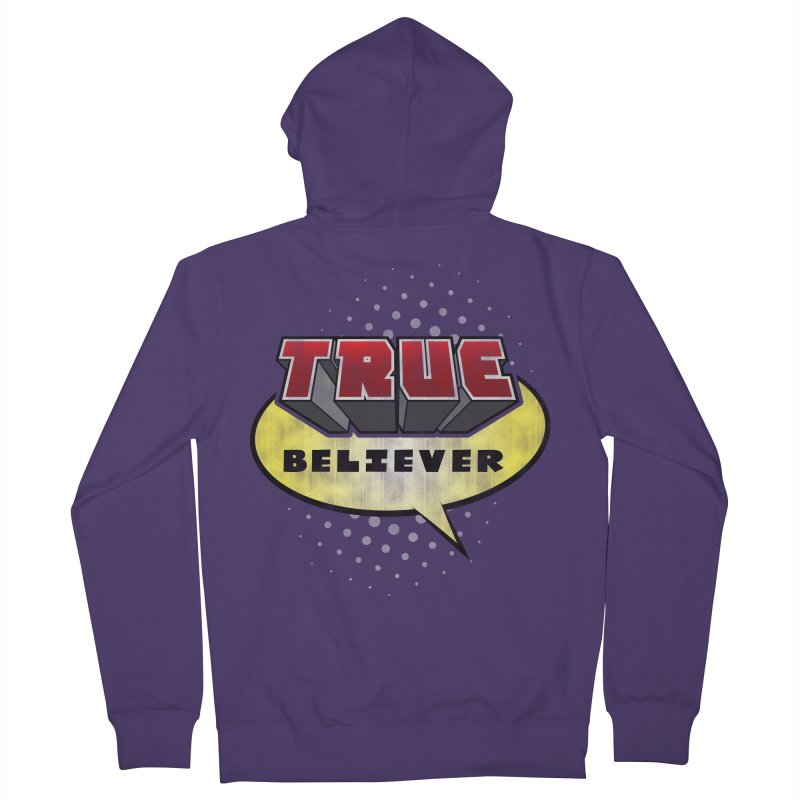 True Believer - Mouthy Merc Flavor Women's Zip-Up Hoody by Gamma Bomb - A Celebration of Imagination