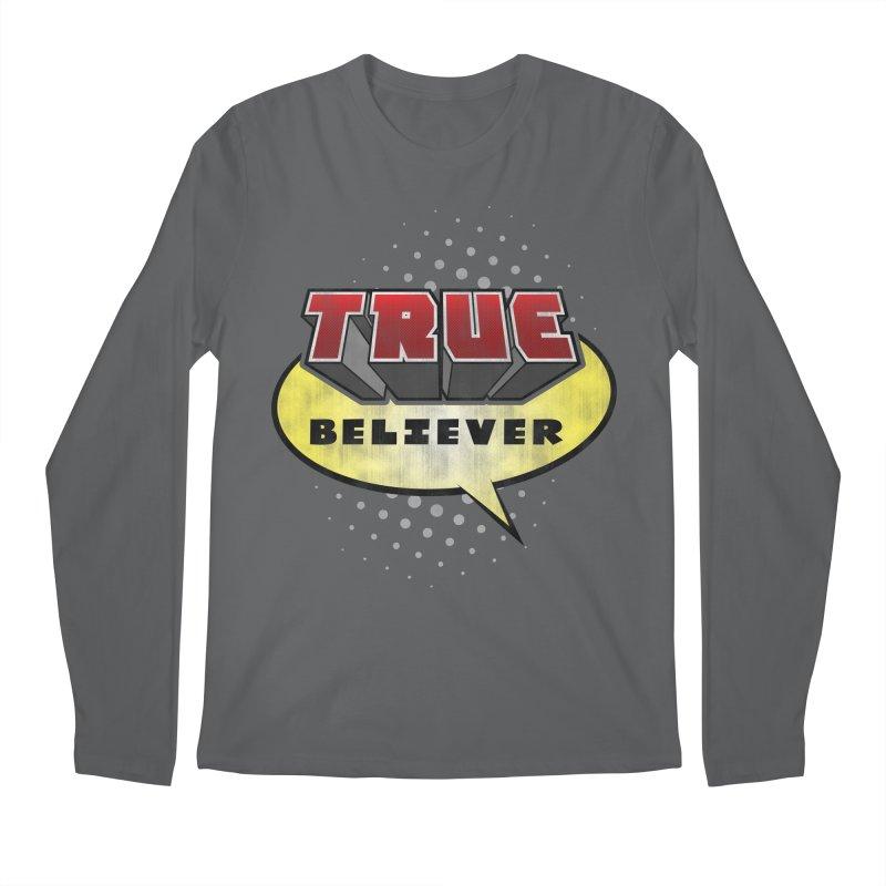 True Believer - Mouthy Merc Flavor Men's Longsleeve T-Shirt by Gamma Bomb - A Celebration of Imagination