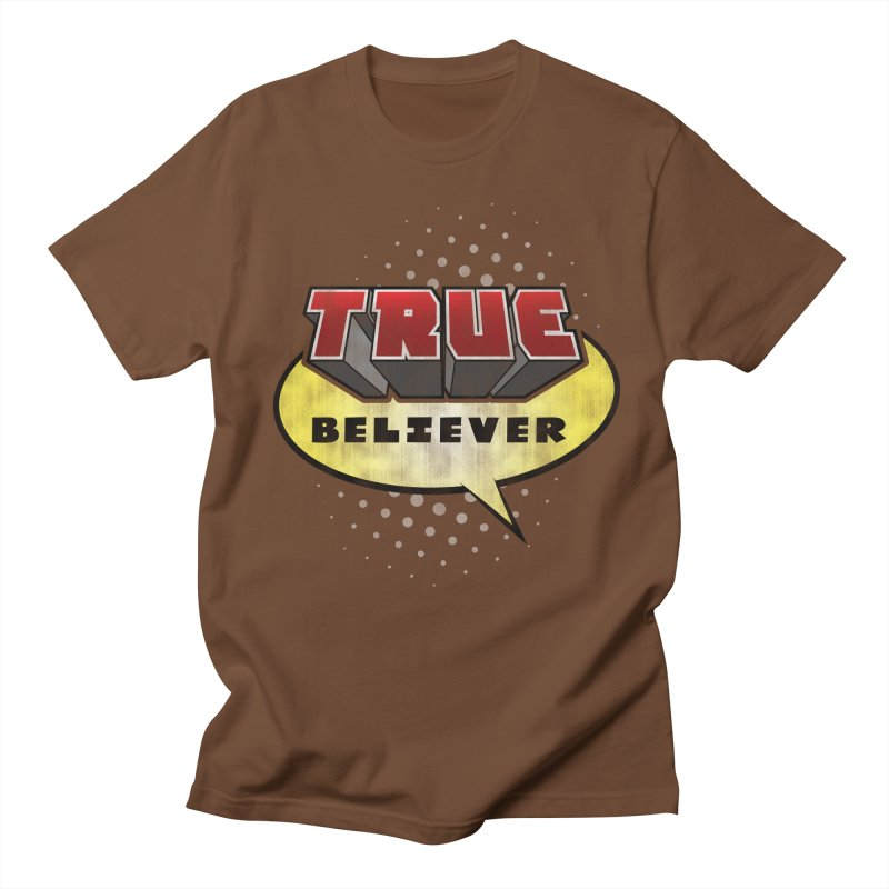 True Believer - Mouthy Merc Flavor Men's T-Shirt by Gamma Bomb - A Celebration of Imagination