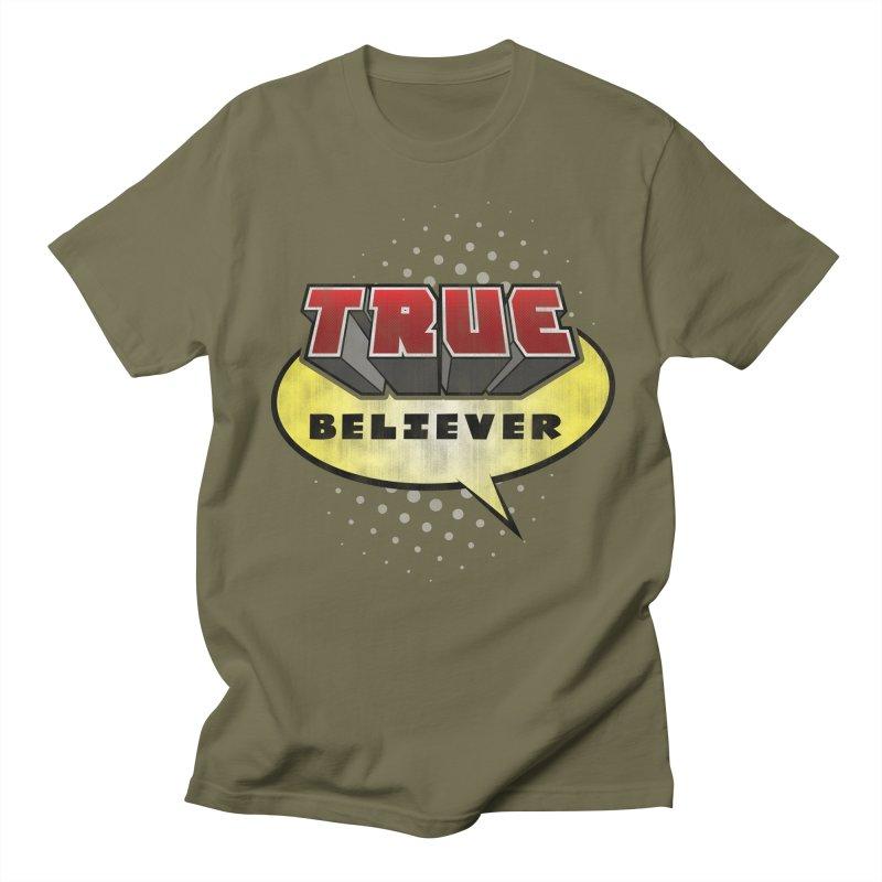 True Believer - Mouthy Merc Flavor Women's Unisex T-Shirt by Gamma Bomb - A Celebration of Imagination