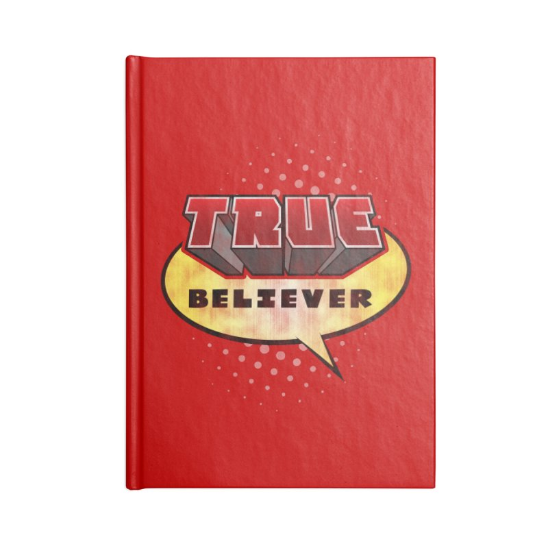 True Believer - Mouthy Merc Flavor Accessories Notebook by Gamma Bomb - A Celebration of Imagination