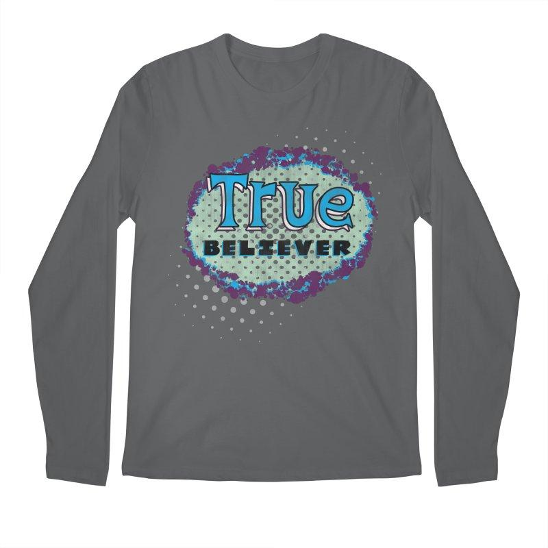 True Believer - Fantastic Flavor Men's Longsleeve T-Shirt by Gamma Bomb - A Celebration of Imagination