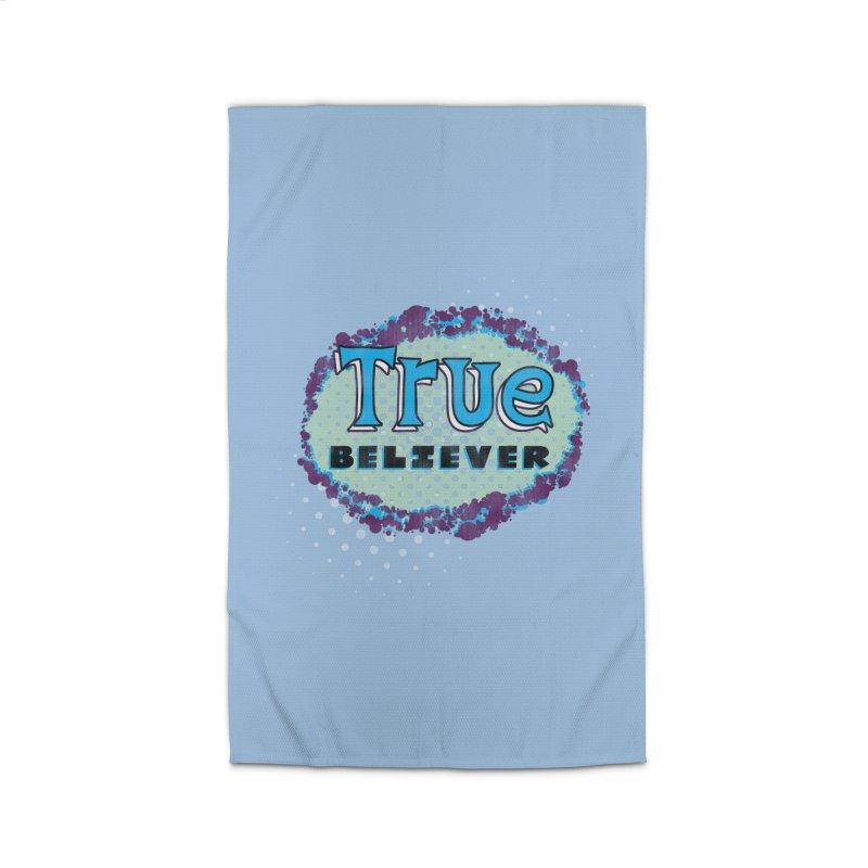 True Believer - Fantastic Flavor Home Rug by Gamma Bomb - A Celebration of Imagination