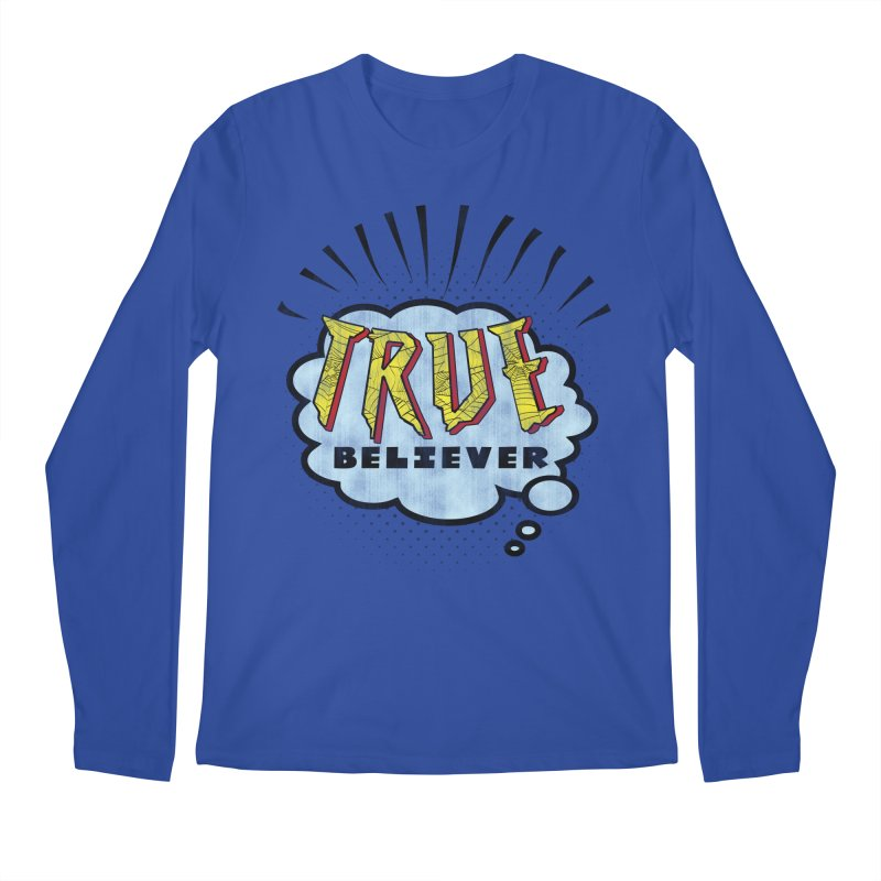 True Believer - Tingling Flavor Men's Longsleeve T-Shirt by Gamma Bomb - A Celebration of Imagination
