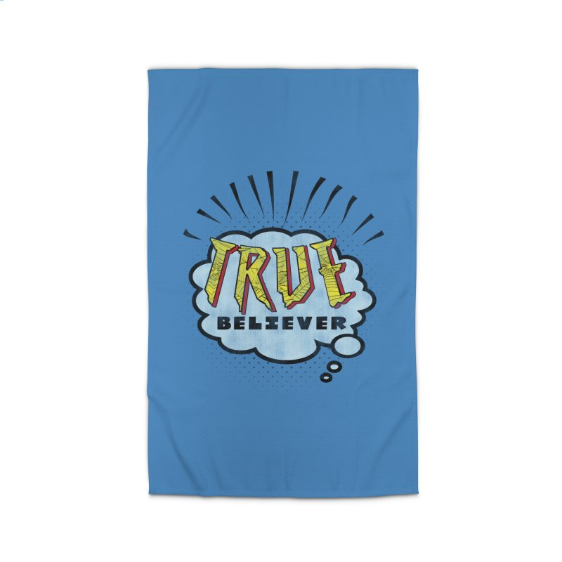 True Believer - Tingling Flavor Home Rug by Gamma Bomb - A Celebration of Imagination
