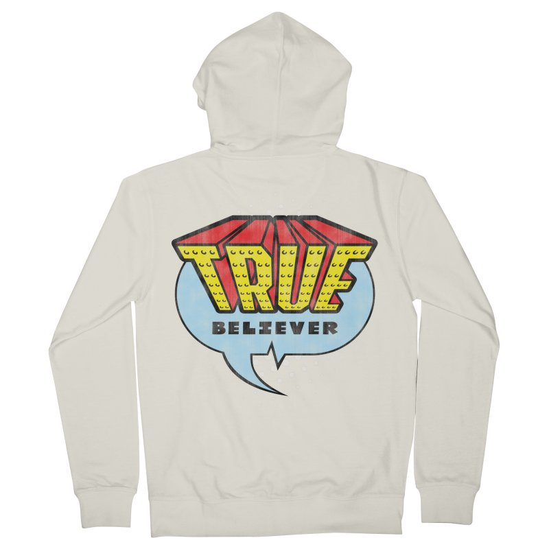 True Believer - Invincible Flavor Women's Zip-Up Hoody by Gamma Bomb - A Celebration of Imagination