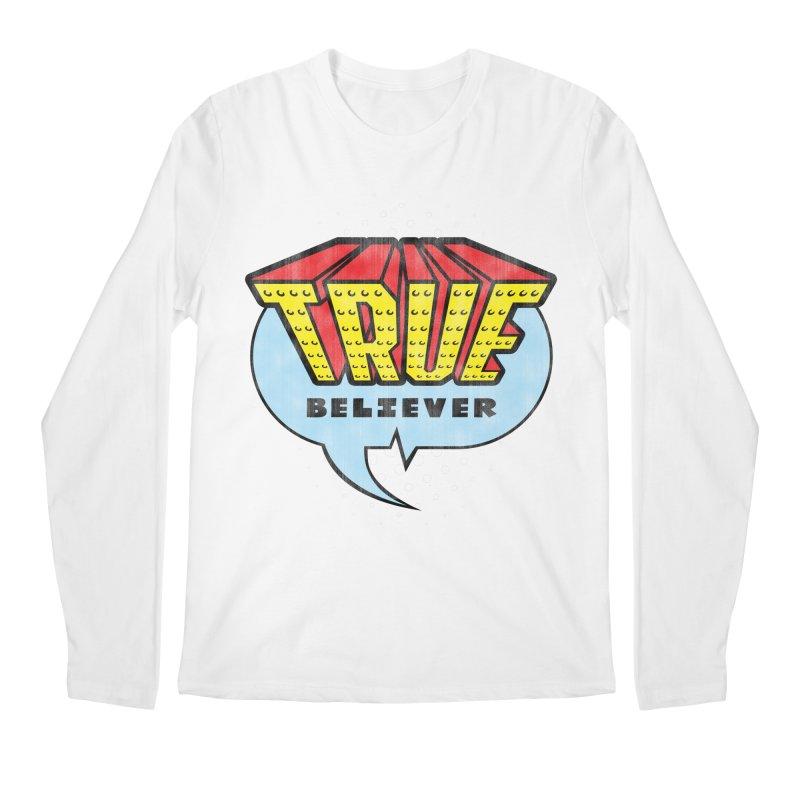 True Believer - Invincible Flavor Men's Longsleeve T-Shirt by Gamma Bomb - A Celebration of Imagination