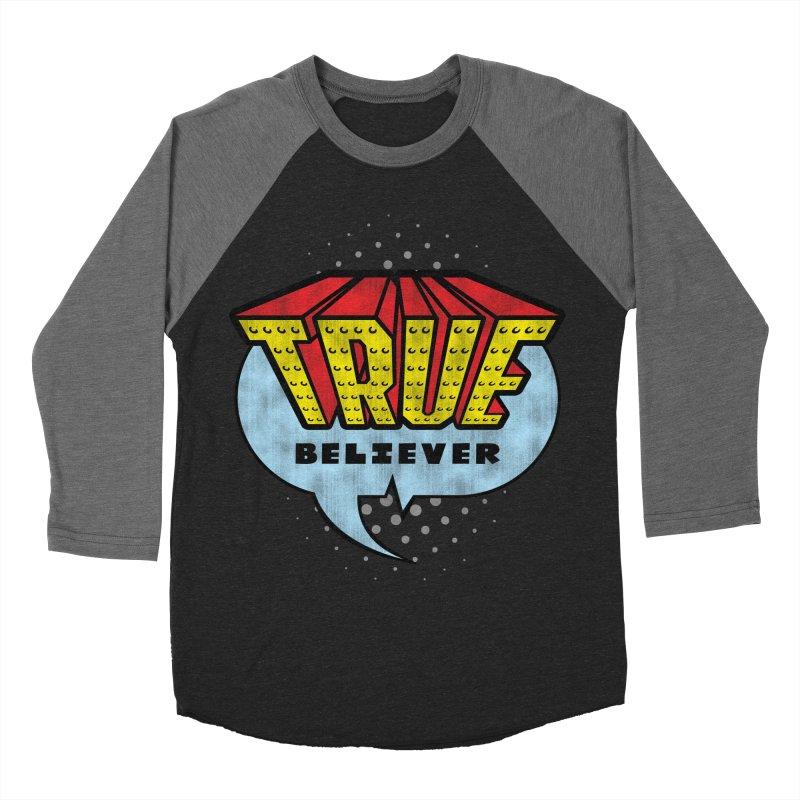 True Believer - Invincible Flavor Women's Baseball Triblend T-Shirt by Gamma Bomb - A Celebration of Imagination