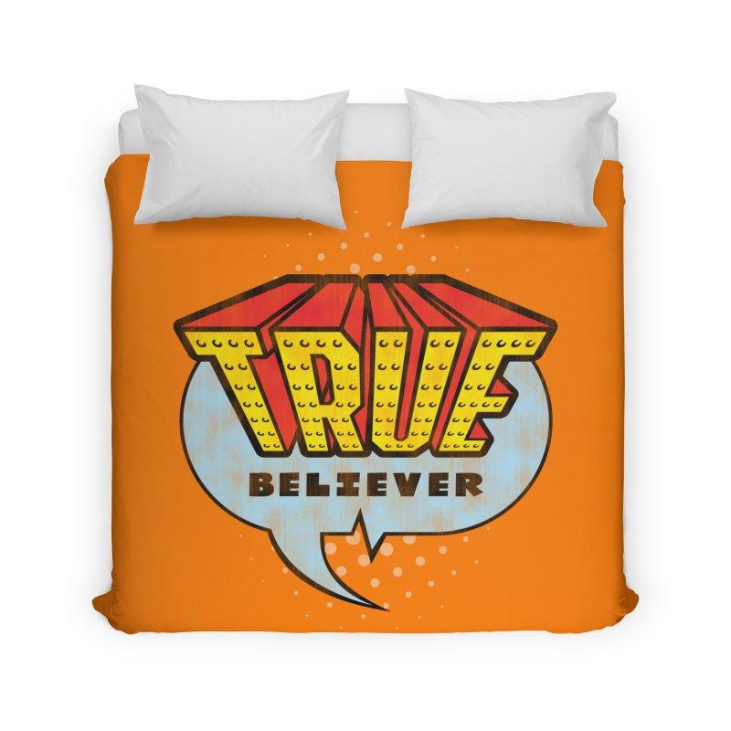 True Believer - Invincible Flavor Home Duvet by Gamma Bomb - A Celebration of Imagination