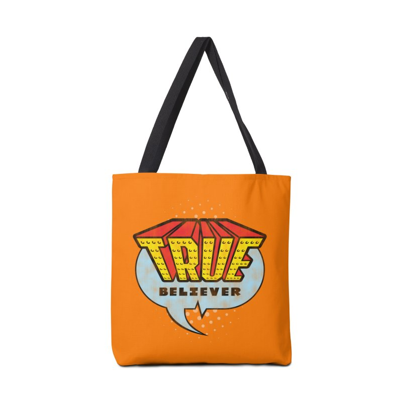 True Believer - Invincible Flavor Accessories Tote Bag Bag by Gamma Bomb - Explosively Mutating Your Look
