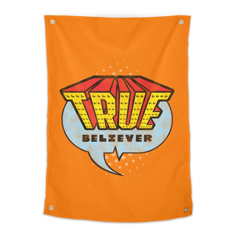 True Believer - Invincible Flavor Home Tapestry by Gamma Bomb - A Celebration of Imagination