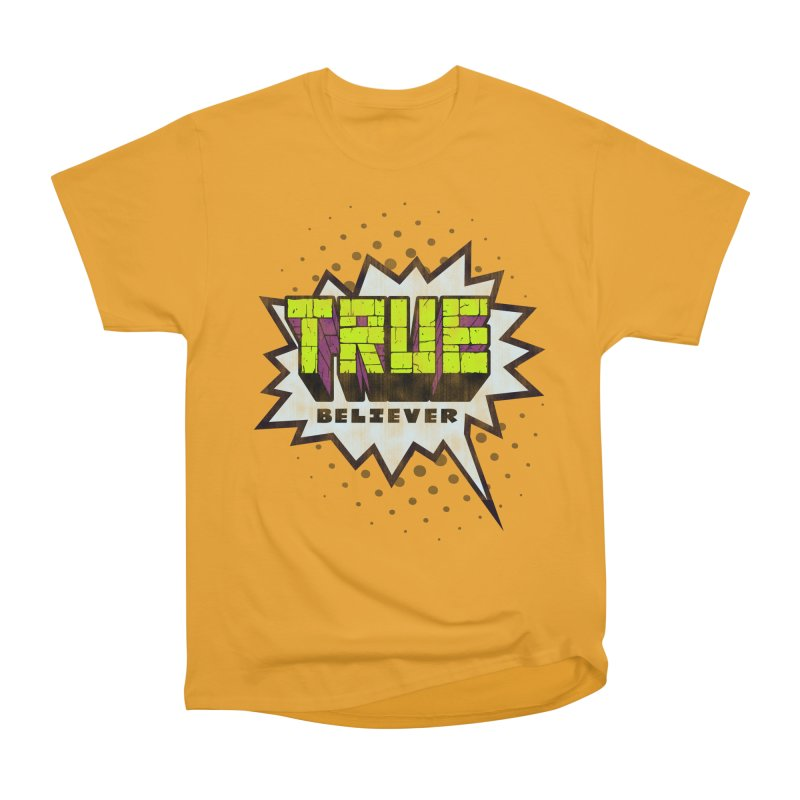 True Believer - Incredible Flavor Men's Classic T-Shirt by Gamma Bomb - A Celebration of Imagination