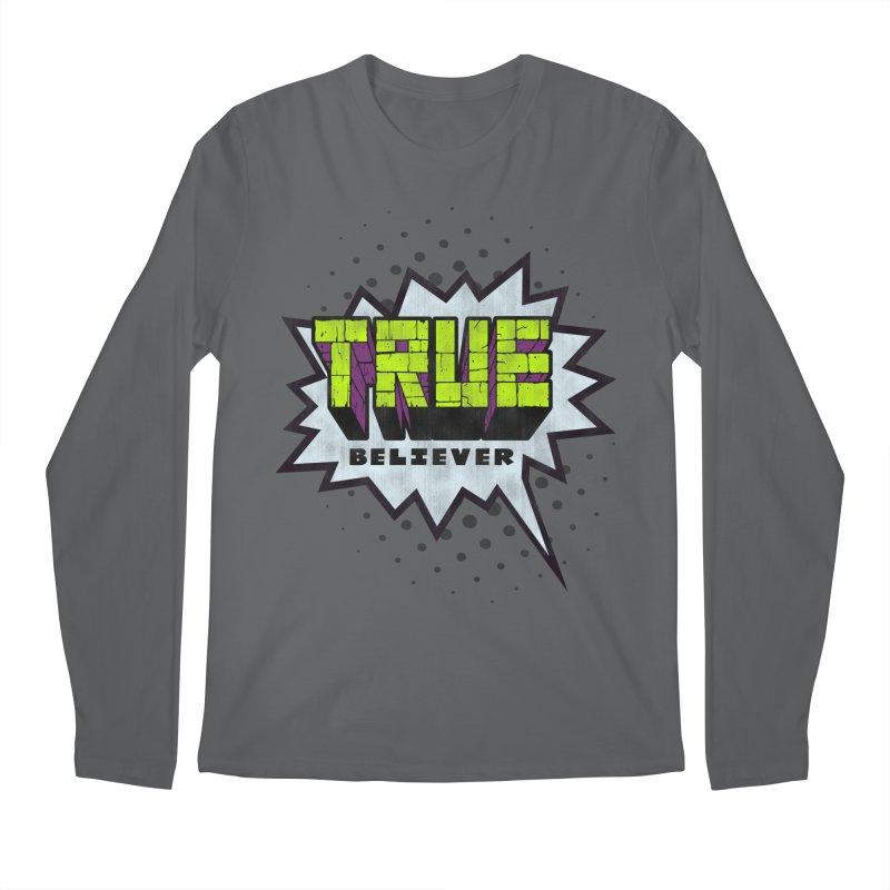 True Believer - Incredible Flavor Men's Longsleeve T-Shirt by Gamma Bomb - A Celebration of Imagination
