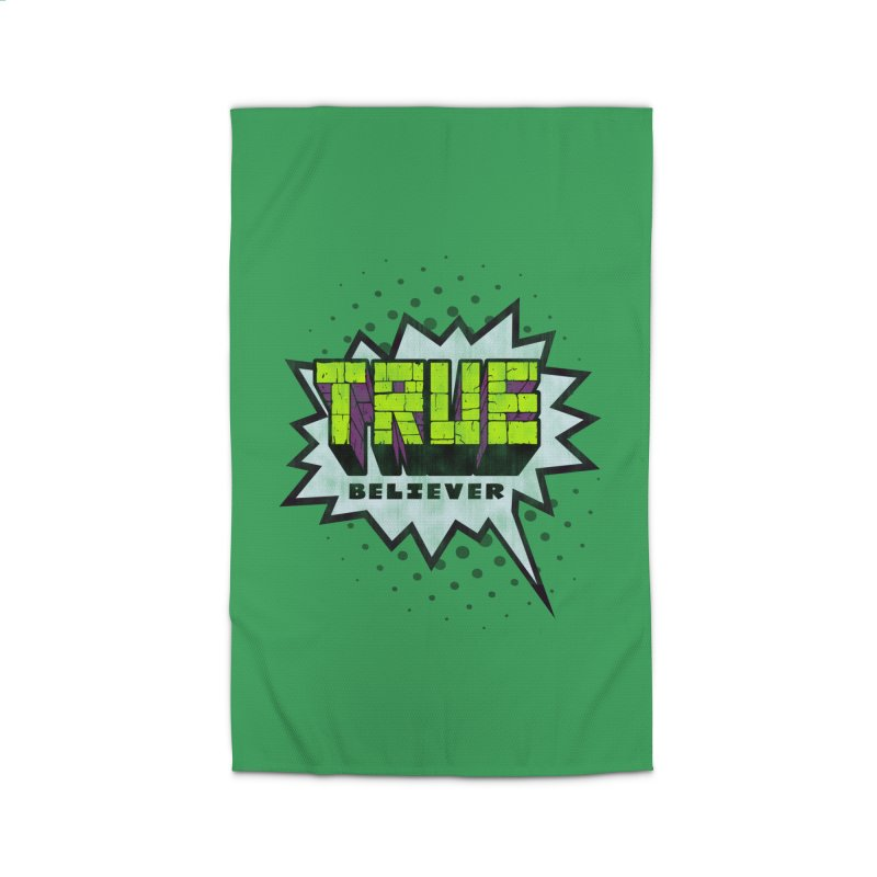 True Believer - Incredible Flavor Home Rug by Gamma Bomb - A Celebration of Imagination