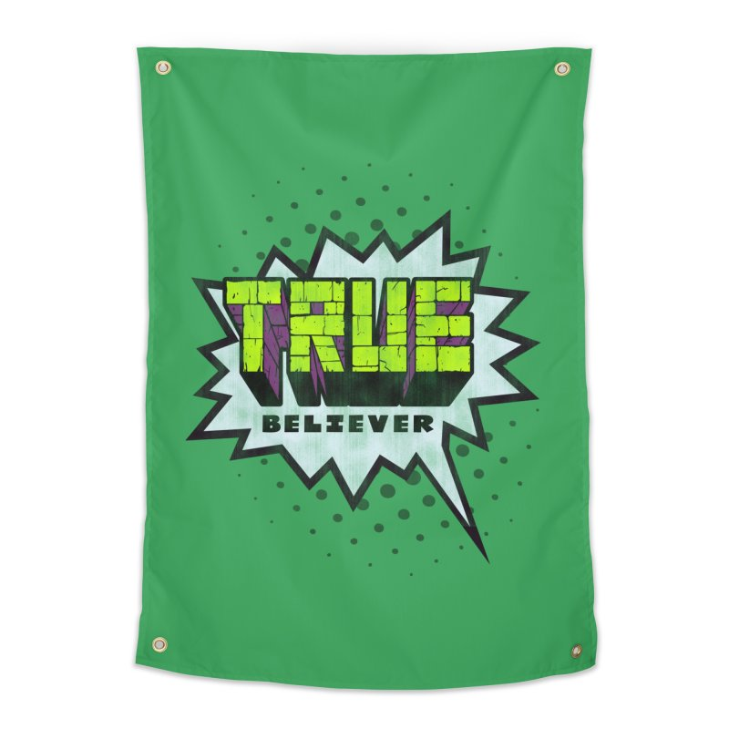 True Believer - Incredible Flavor Home Tapestry by Gamma Bomb - A Celebration of Imagination