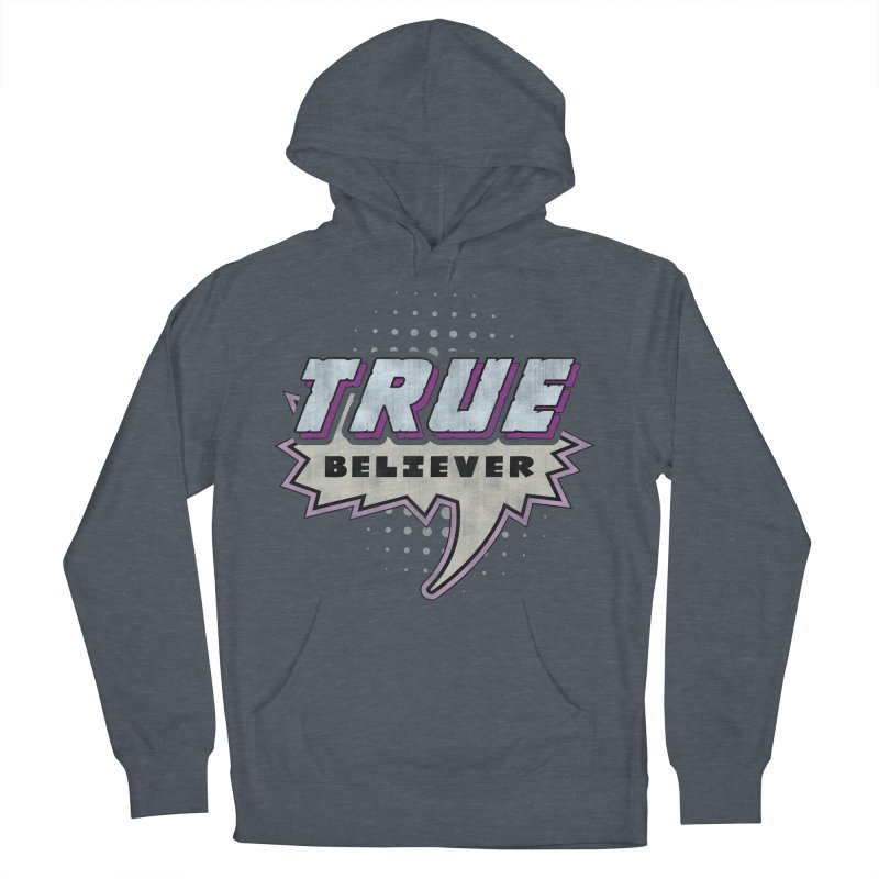 True Believer - Panther Flavor Men's Pullover Hoody by Gamma Bomb - A Celebration of Imagination