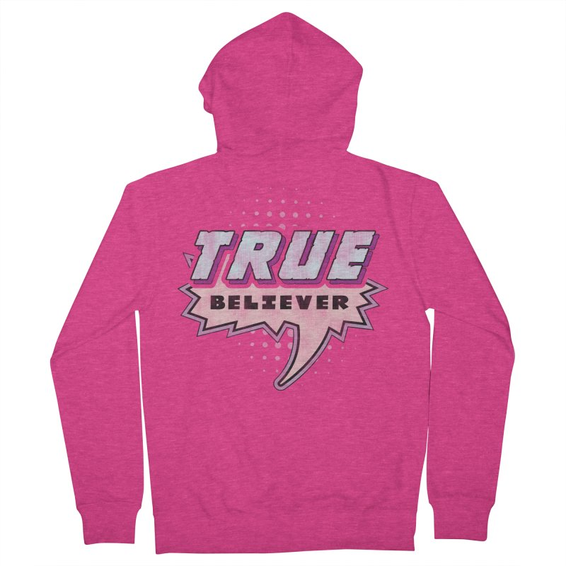 True Believer - Panther Flavor Women's Zip-Up Hoody by Gamma Bomb - A Celebration of Imagination