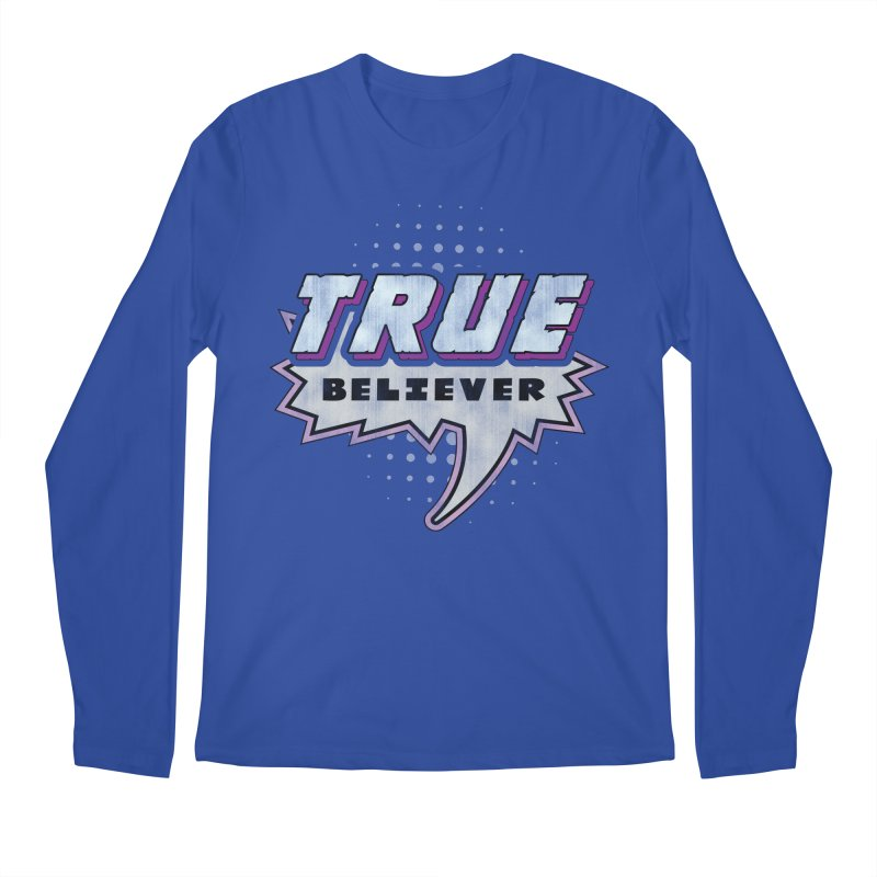 True Believer - Panther Flavor Men's Longsleeve T-Shirt by Gamma Bomb - A Celebration of Imagination