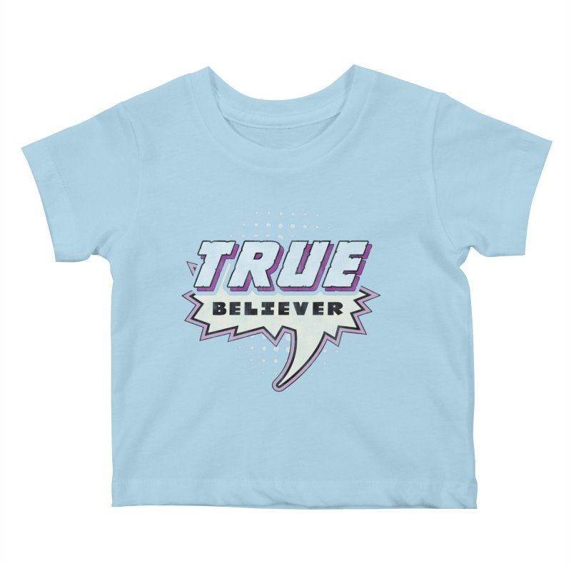 True Believer - Panther Flavor Kids Baby T-Shirt by Gamma Bomb - A Celebration of Imagination