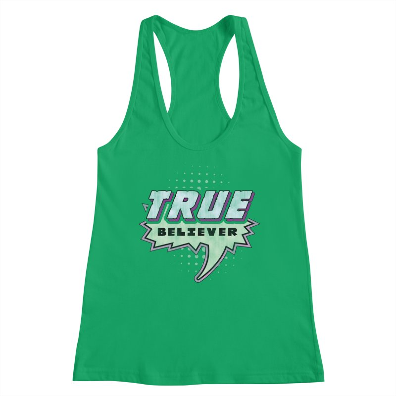 True Believer - Panther Flavor Women's Tank by Gamma Bomb - Explosively Mutating Your Look