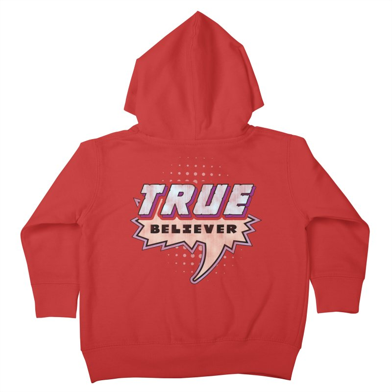True Believer - Panther Flavor Kids Toddler Zip-Up Hoody by Gamma Bomb - A Celebration of Imagination