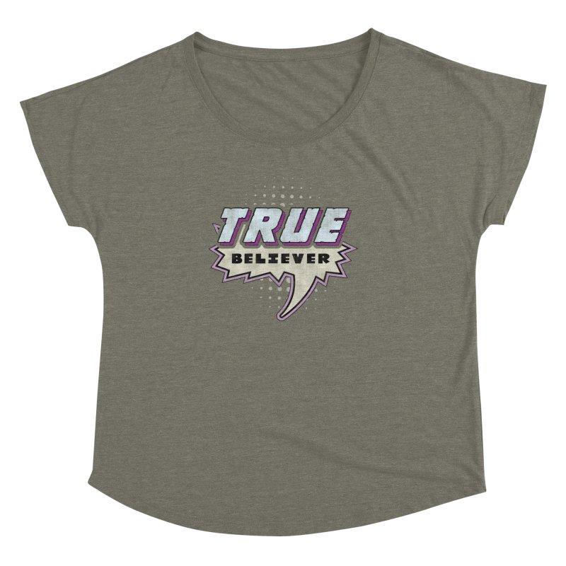 True Believer - Panther Flavor Women's Dolman by Gamma Bomb - A Celebration of Imagination