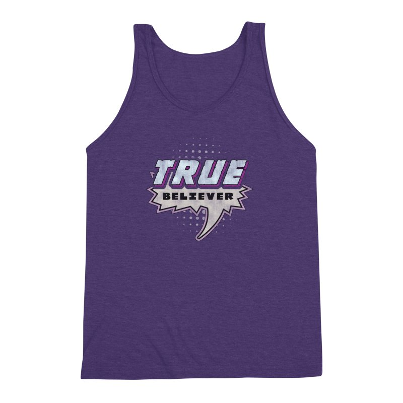 True Believer - Panther Flavor Men's Triblend Tank by Gamma Bomb - A Celebration of Imagination