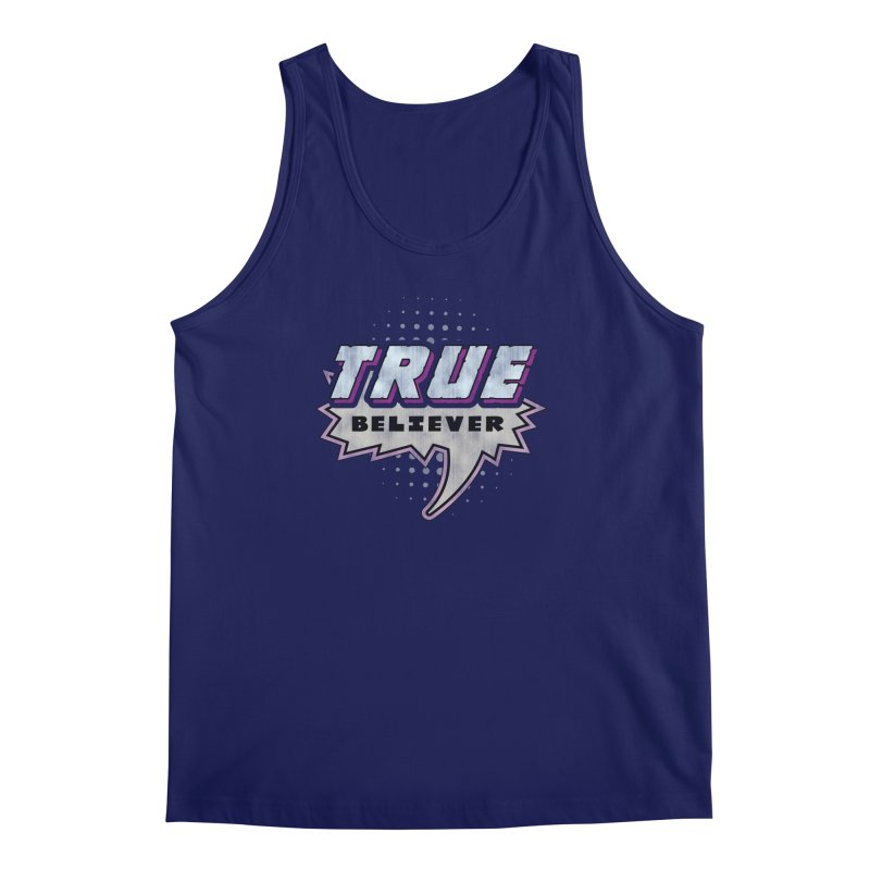 True Believer - Panther Flavor Men's Tank by Gamma Bomb - A Celebration of Imagination