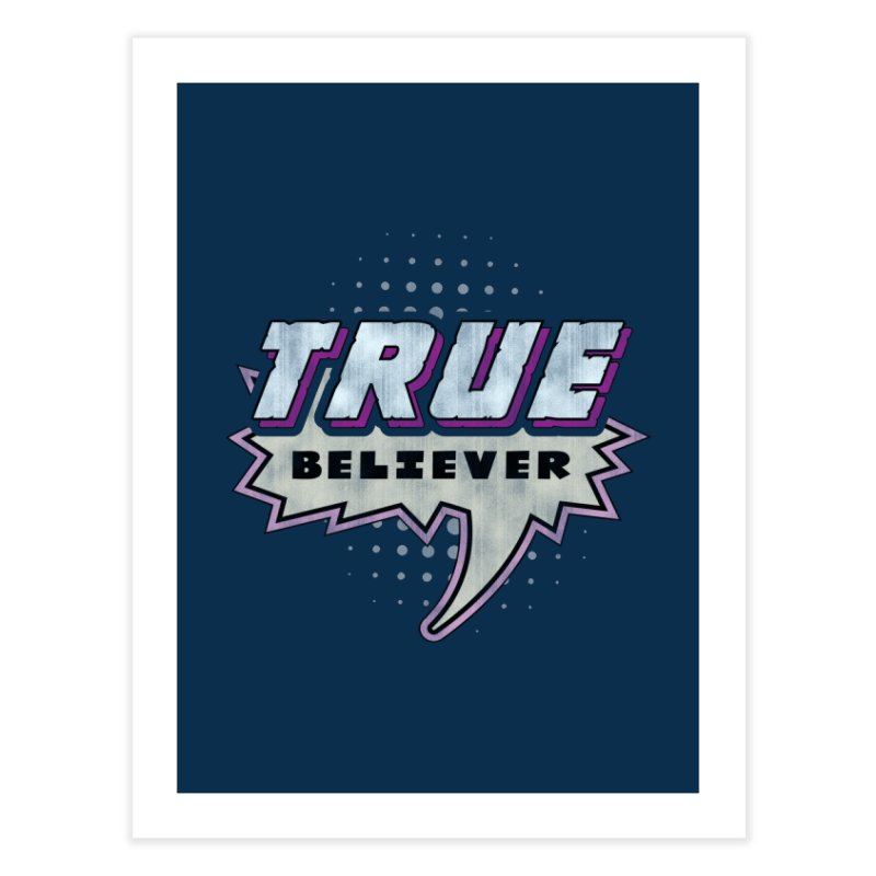 True Believer - Panther Flavor Home Fine Art Print by Gamma Bomb - A Celebration of Imagination