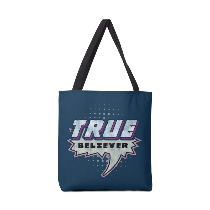 True Believer - Panther Flavor Accessories Tote Bag Bag by Gamma Bomb - Explosively Mutating Your Look