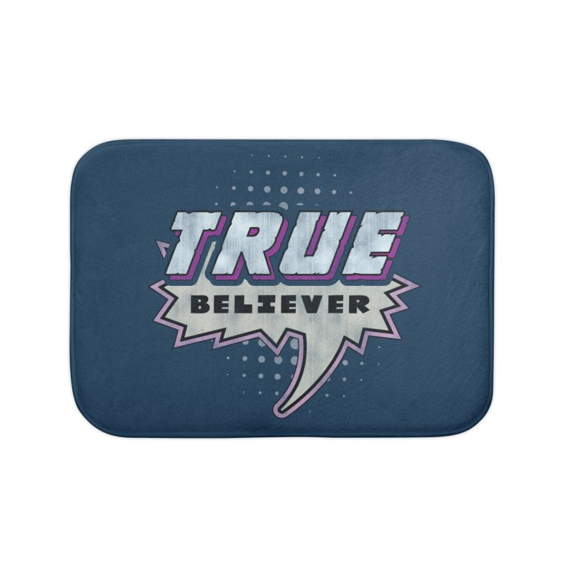True Believer - Panther Flavor Home Bath Mat by Gamma Bomb - A Celebration of Imagination