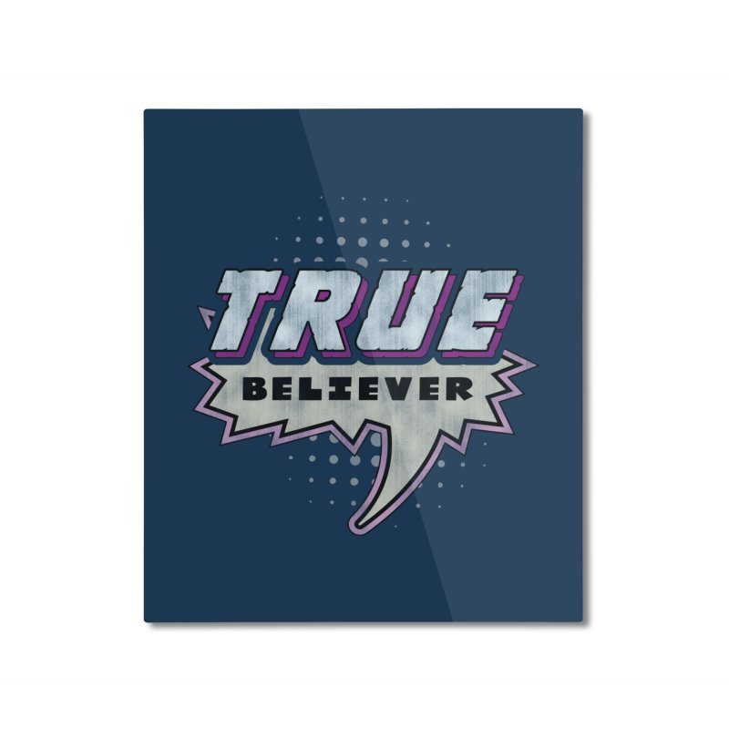 True Believer - Panther Flavor Home Mounted Aluminum Print by Gamma Bomb - A Celebration of Imagination