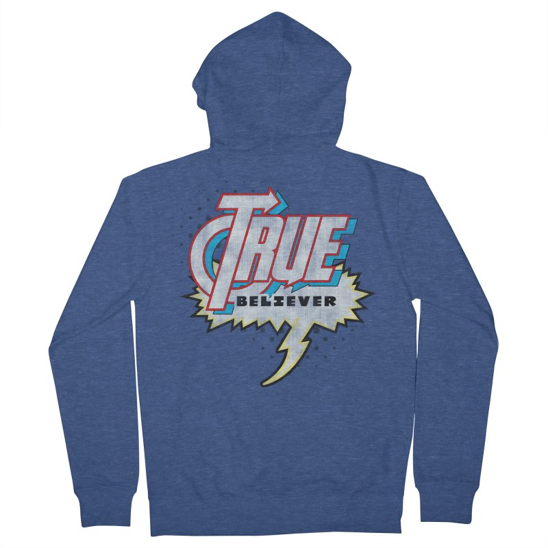 True Believer - Avenged Flavor Women's Zip-Up Hoody by Gamma Bomb - A Celebration of Imagination
