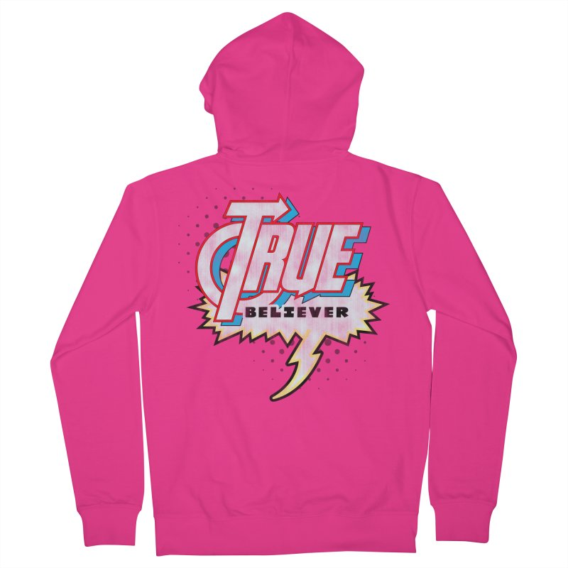True Believer - Avenged Flavor Men's Zip-Up Hoody by Gamma Bomb - A Celebration of Imagination