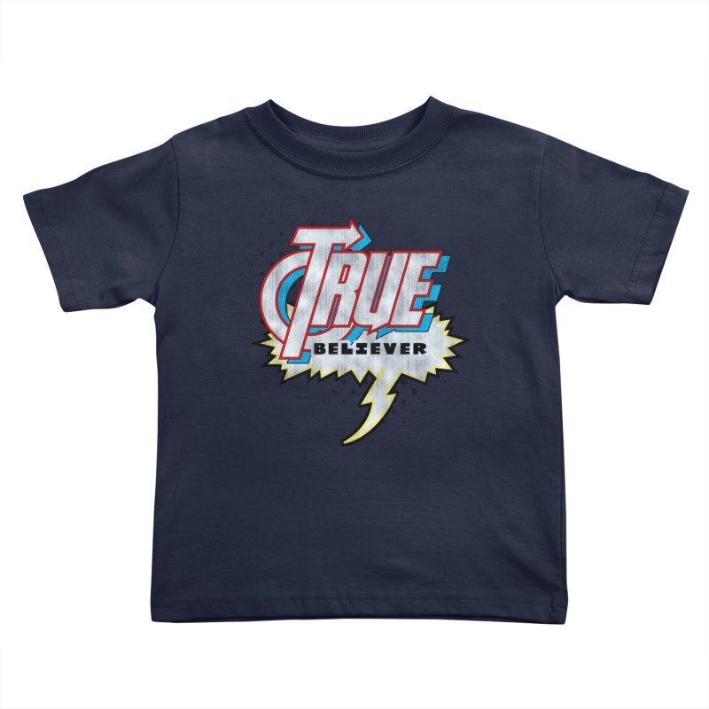 True Believer - Avenged Flavor Kids Toddler T-Shirt by Gamma Bomb - A Celebration of Imagination