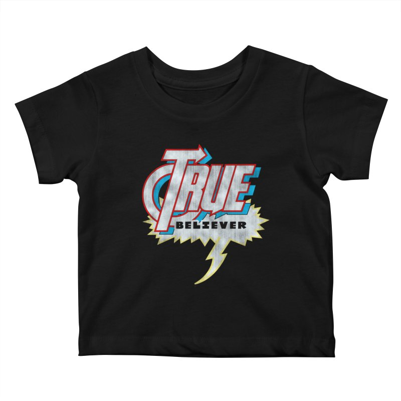 True Believer - Avenged Flavor Kids Baby T-Shirt by Gamma Bomb - A Celebration of Imagination
