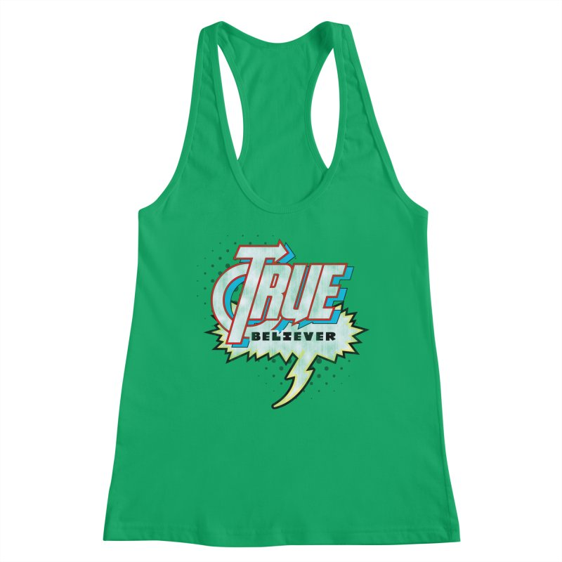 True Believer - Avenged Flavor Women's Tank by Gamma Bomb - Explosively Mutating Your Look