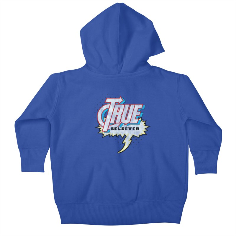 True Believer - Avenged Flavor Kids Baby Zip-Up Hoody by Gamma Bomb - A Celebration of Imagination