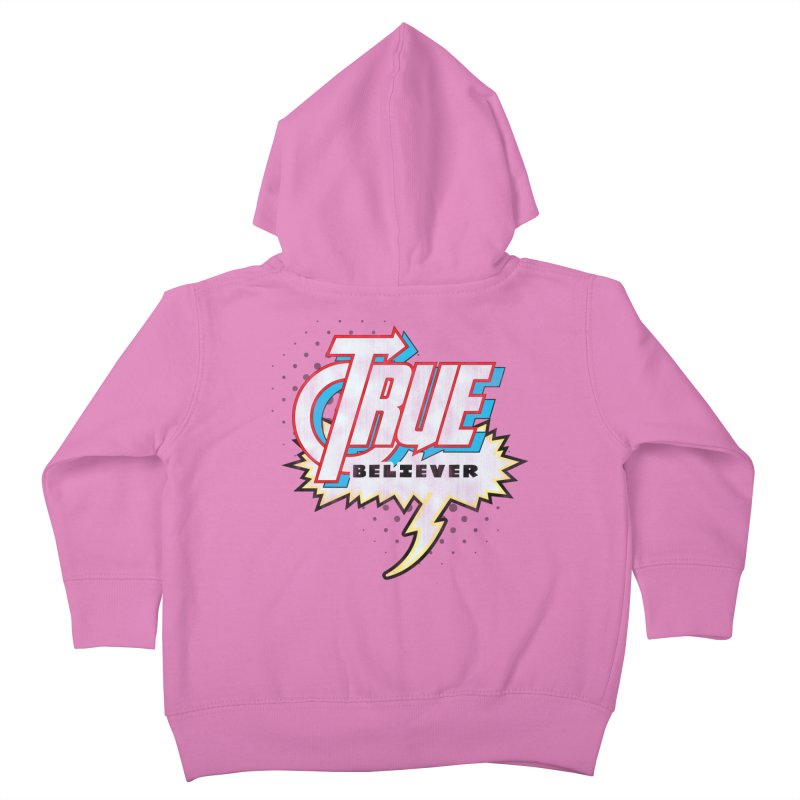 True Believer - Avenged Flavor Kids Toddler Zip-Up Hoody by Gamma Bomb - A Celebration of Imagination